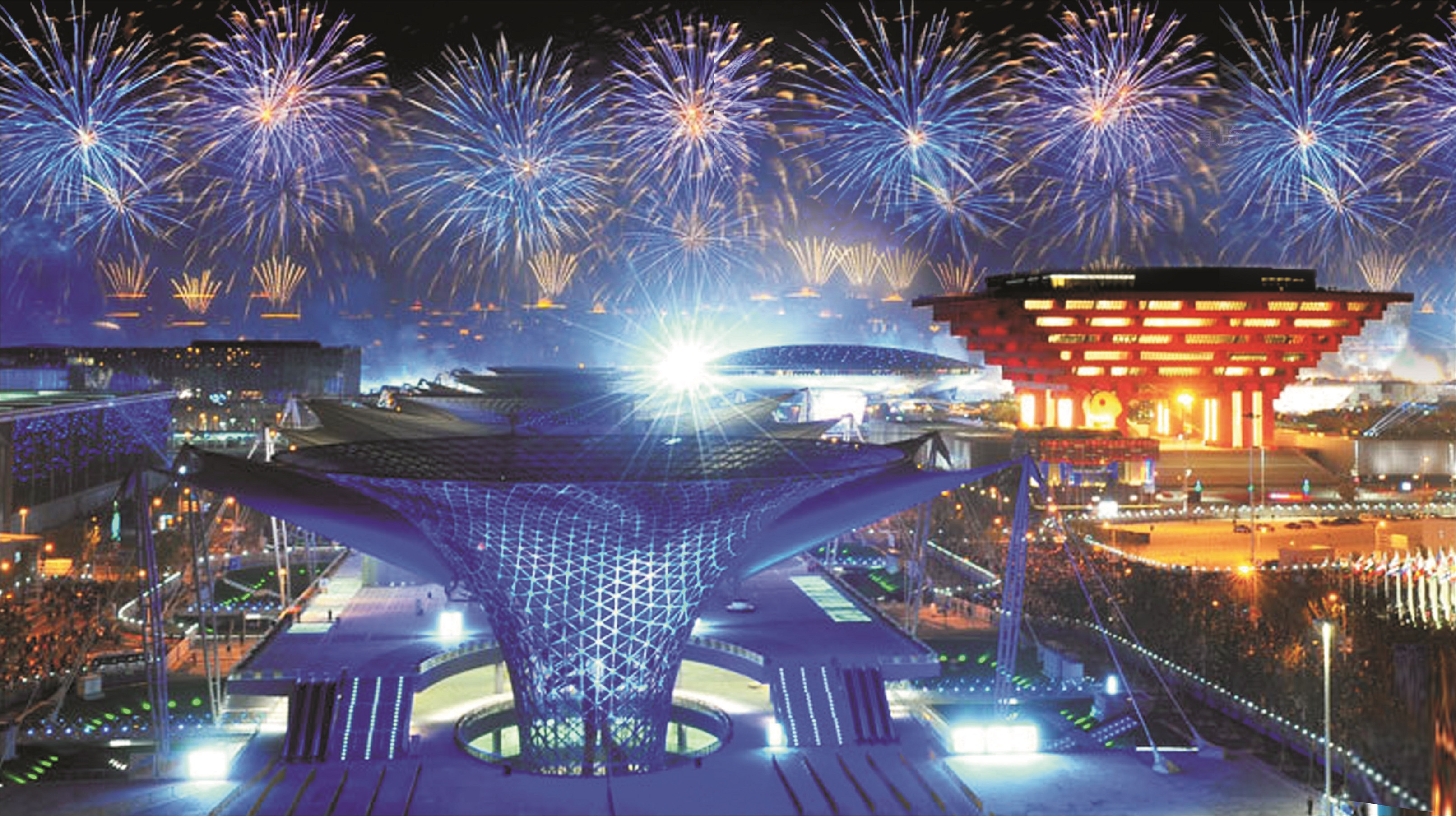 2010 SHANGHAI WORLD EXPO.FIREWORKS SHOW